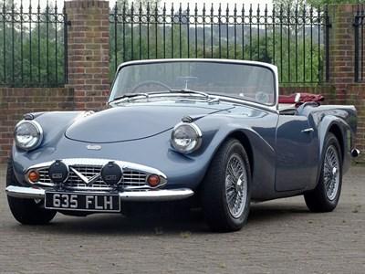 Lot 72-1963 Daimler SP250 Dart