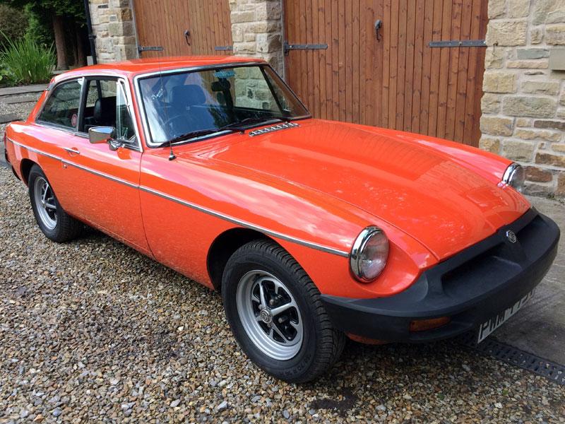 Lot 12-1978 MG B GT
