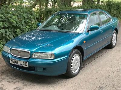 Lot 33-1998 Rover 620 GSi