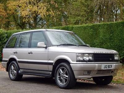 Lot 71-2002 Range Rover 4.0 Westminster