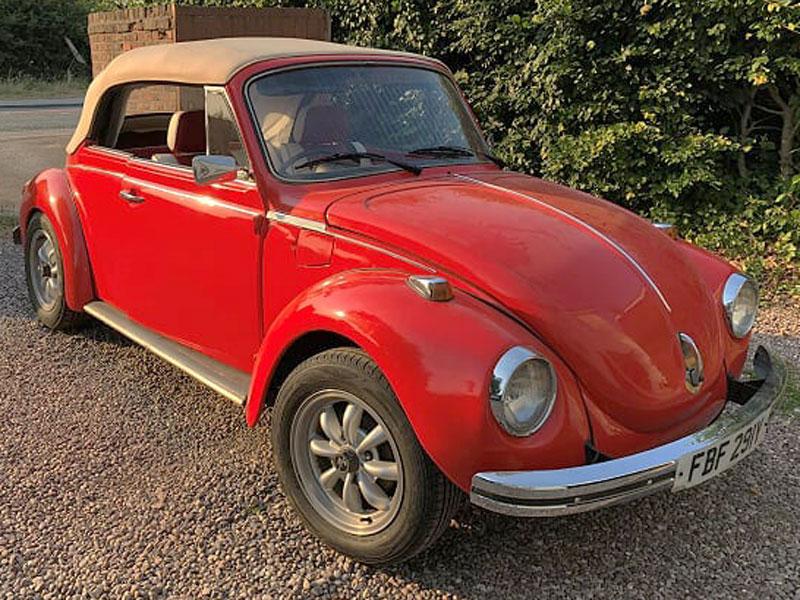 Lot 48 - 1972 Volkswagen Beetle 1303 LS Convertible