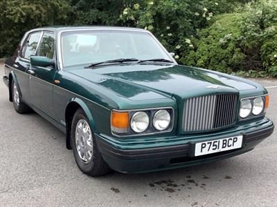 Lot 34-1996 Bentley Brooklands