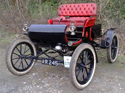 Lot 65 - 1903 Oldsmobile Curved Dash 5hp Runabout