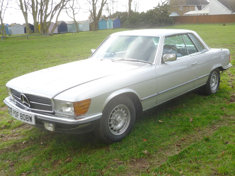 Lot 55-1981 Mercedes-Benz 380 SLC