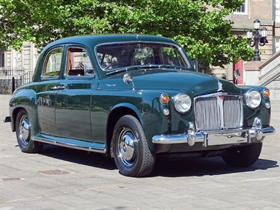 Lot 125-1963 Rover P4 95