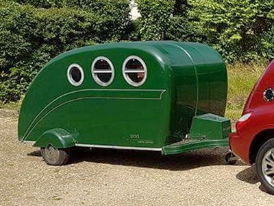 Lot 134-c.2000 The Pod Teardrop Caravan