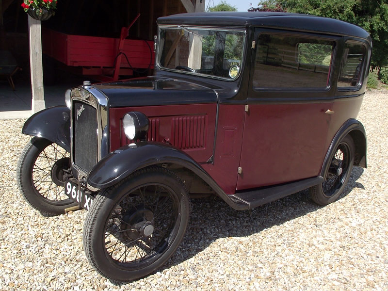 Lot 70-1932 Austin Seven RN Saloon