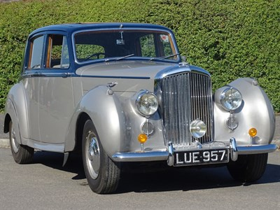 Lot 52-1952 Bentley MK VI Saloon