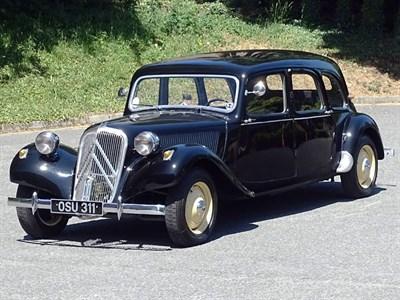 Lot 85-1954 Citroen 11B Traction Avant Familiale