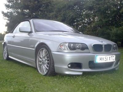 Lot 107-2001 BMW 330Ci Sport Cabriolet