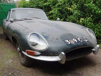 Lot 130-1962 Jaguar E-Type 3.8 Coupe