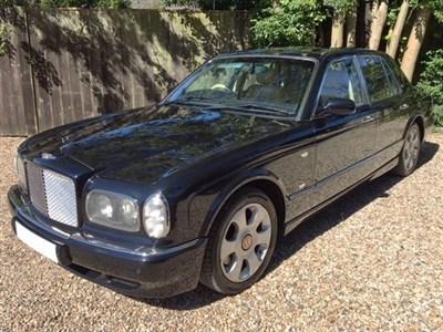 Lot 122-2002 Bentley Arnage R