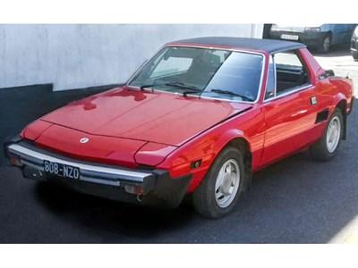 Lot 3-1981 Fiat X1/9 1500
