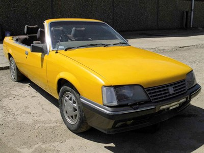 Lot 63-1984 Opel Senator A 2.5 E Convertible Conversion