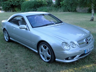 Lot 80 - 2003 Mercedes-Benz CL 55 AMG