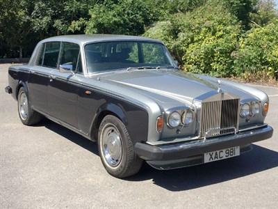 Lot 31-1979 Rolls-Royce Silver Shadow II