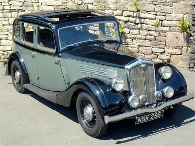 Lot 141-1937 Wolseley 14/56 Saloon