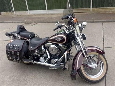 Lot 39 - 1998 Harley Davidson FLSTS Heritage Springer