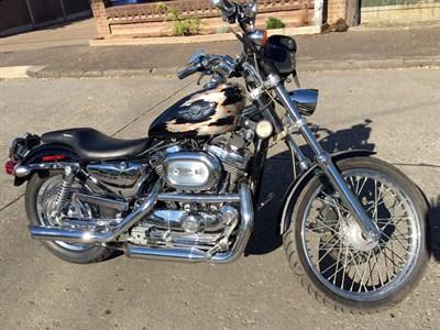 Lot 40 - 2003 Harley Davidson Sportster XL1200C Custom