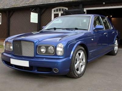 Lot 145-2002 Bentley Arnage T