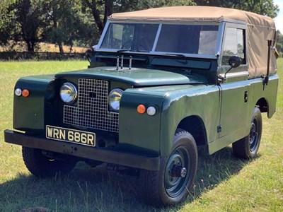 Lot 146-1967 Land Rover 88 Series IIA