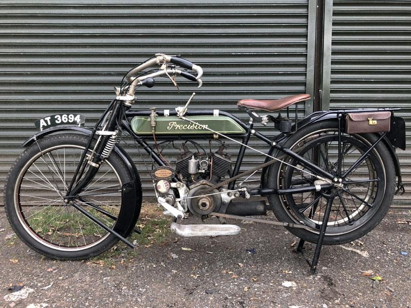 Lot 43 - 1913 Sun-Precision 500cc