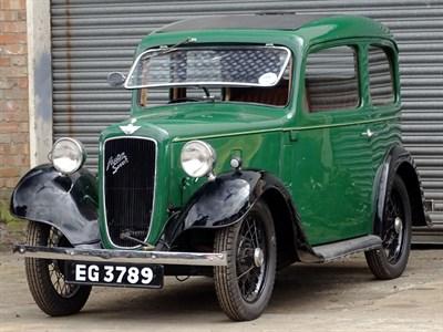 Lot 2-1936 Austin Seven Ruby