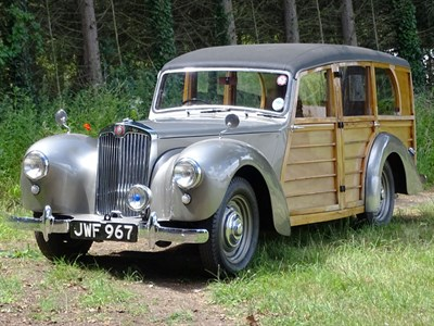 Lot 3-1951 Lea-Francis 14hp Estate