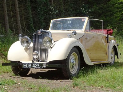 Lot 7 - 1947 Lea-Francis 14hp Drophead Coupe
