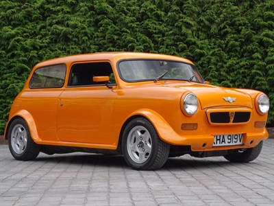Lot 63 - 1980 Leyland Mini 'Orange Crush'