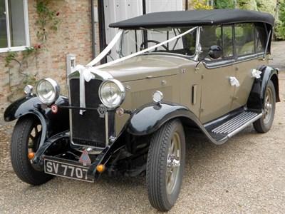 Lot 33-1929 Hillman 14 Tourer