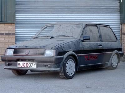 Lot 78-1983 MG Metro Turbo