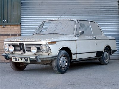 Lot 3-1973 BMW 2002