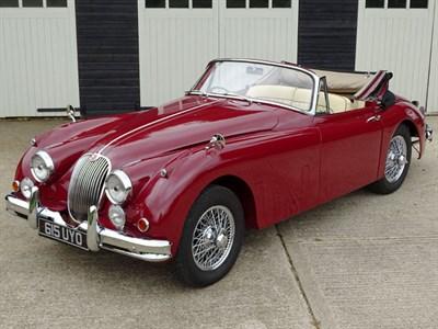 Lot 76-1959 Jaguar XK150 SE Drophead Coupe