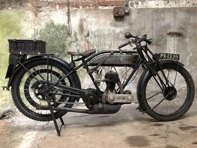 Lot 81-1925 Triumph Model P