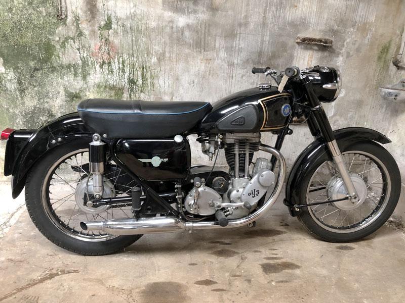 Lot 82 - 1956 AJS 16MS