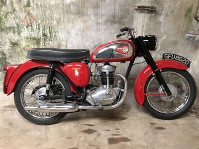 Lot 83 - 1966 BSA C15