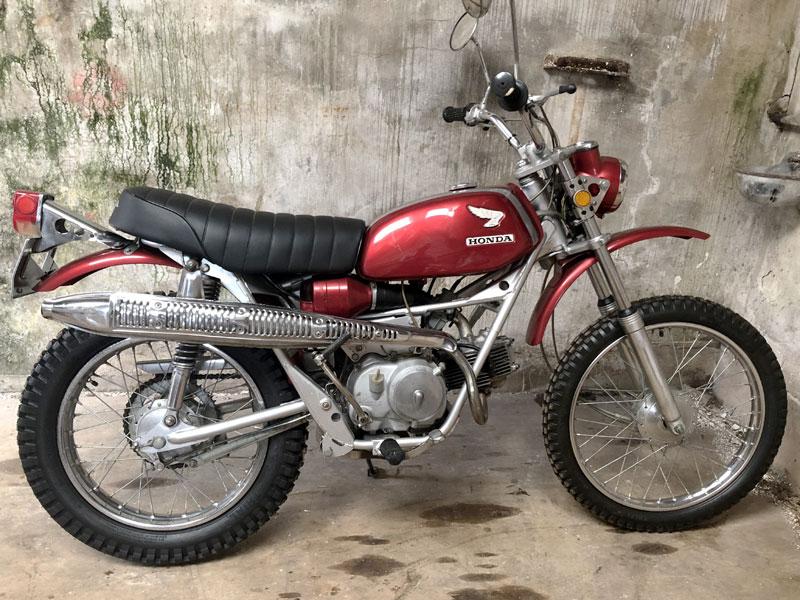 Lot 85 - 1969 Honda SL90