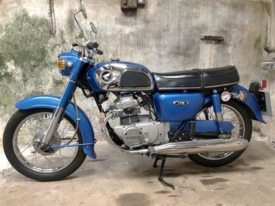 Lot 89-1973 Honda CD175