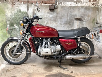 Lot 91-1975 Honda GL1000 Gold Wing