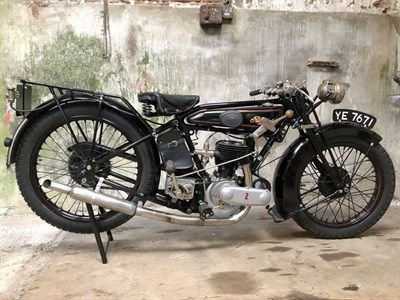 Lot 92 - 1927 Raleigh Model 21