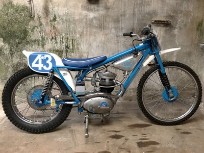 Lot 93-1974 Antig-BSA B40 Grasstrack