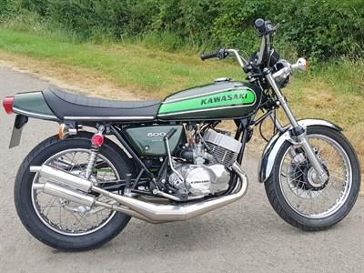 Lot 113 - 1973 Kawasaki H1 Mach III