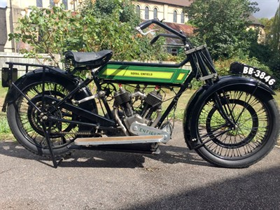 Lot 100 - 1921 Royal Enfield Model 180