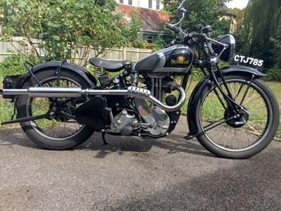 Lot 104 - 1938 Sunbeam Model A26