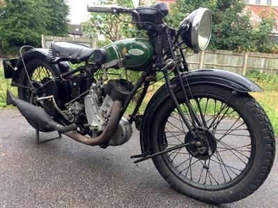 Lot 106 - 1929 BSA Sloper