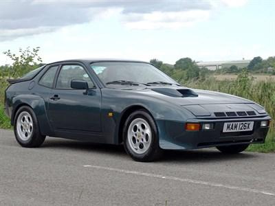 Lot 79-1982 Porsche 924 Turbo