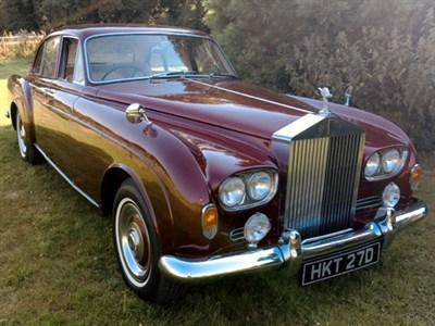 Lot 51 - 1966 Rolls-Royce Silver Cloud III 'Flying Spur' Sports Saloon