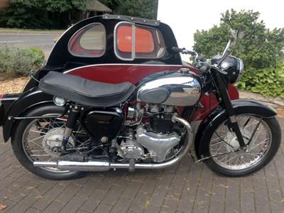 Lot 118 - 1957 BSA A10 Golden Flash Combination