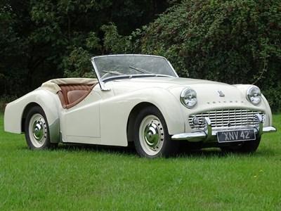 Lot 90-1957 Triumph TR3